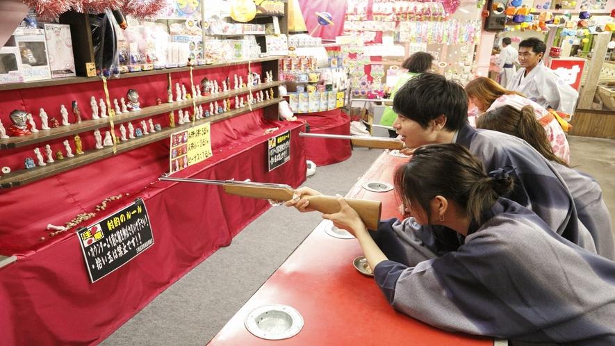 【泉娯楽場】温泉街のレトロな娯楽場★射的・スマートボール・手打ちパチンコが楽しめます♪