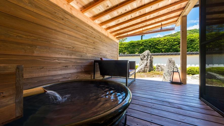 【はなれ琳】露天風呂付き客室・一例