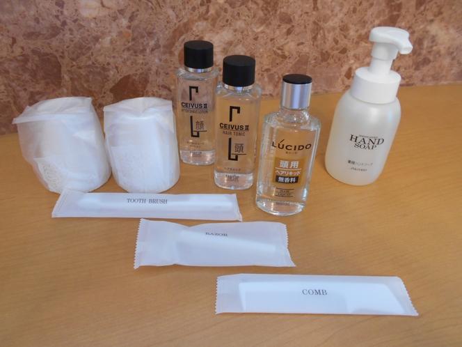 ★洗面の常備品