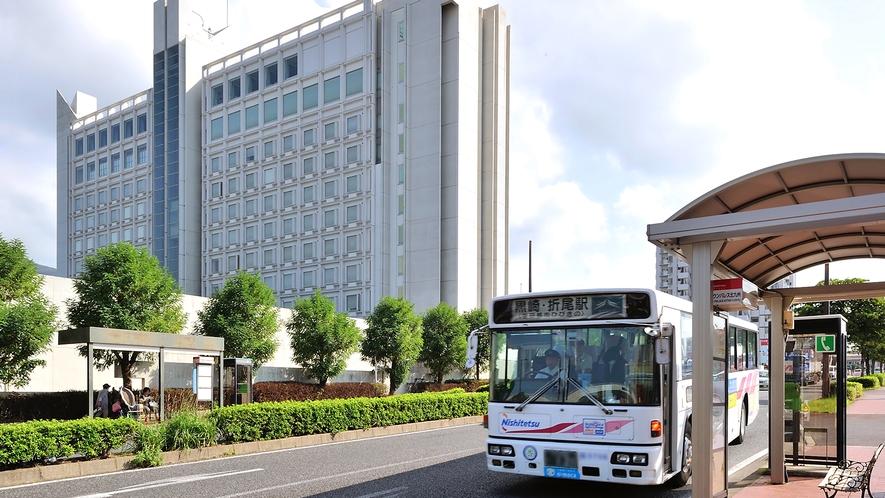 ホテルクラウンパレス北九州(バス停)