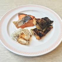 焼き魚<朝食バイキング7:00~10:00>