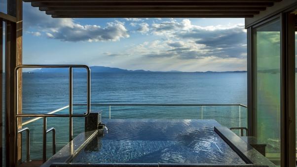 <絶景海側>感動露天風呂付特別客室 天空(和室14畳+寝室)