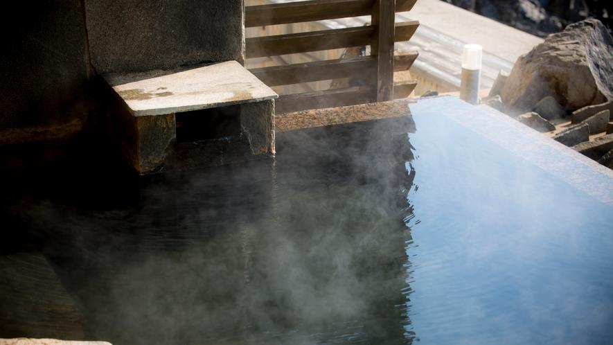 【岩海の湯】別名「よみがえりの湯」とも言われる赤穂温泉を源泉100%でお楽しみいただけます。