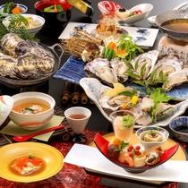 銀波荘が贈る、冬季限定『牡蠣三昧会席』心ゆくまでご堪能下さい