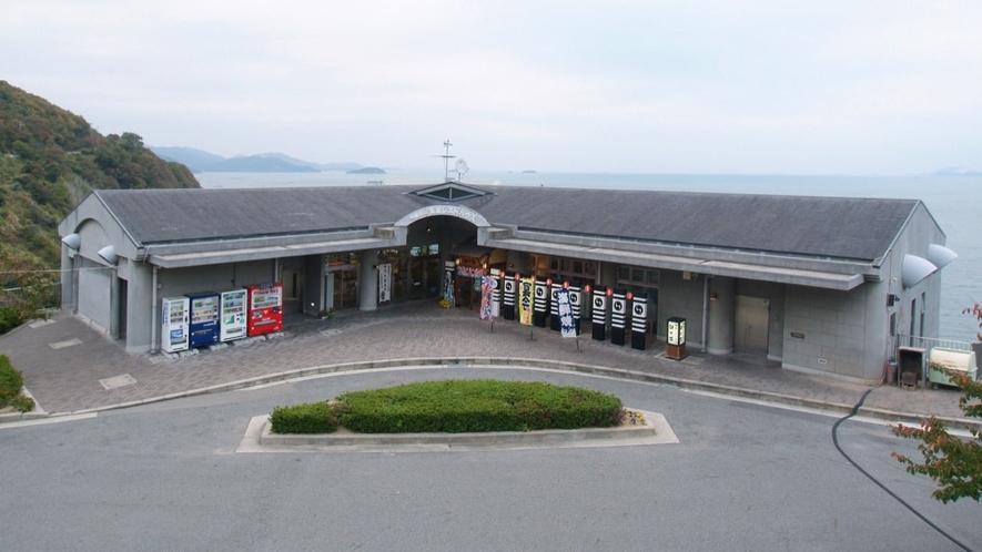 赤穂御崎・レストラン銀波荘の外観