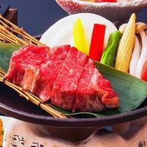 """【牛フィレ肉のステーキ】小豆島産""""オリーブ牛フィレ""""を使った贅沢なステーキ会席"""