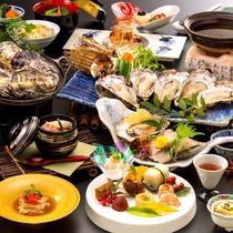 冬季限定『牡蠣三昧会席』※イメージ