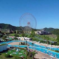 姫路セントラルパーク夏季のお楽しみ♪関西最大級プール・アクエリア