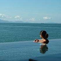 【天海の湯】海遊大浴苑からの絶景風景!立地を活かした最高のロケーション!