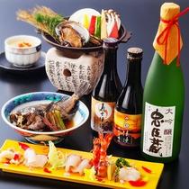 【お造りと地酒】美味しい料理と美味しいお酒を!