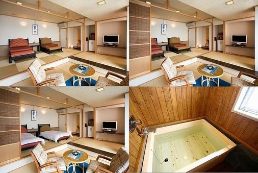 和風ツインベッドルーム+リビング【禁煙室】501号室
