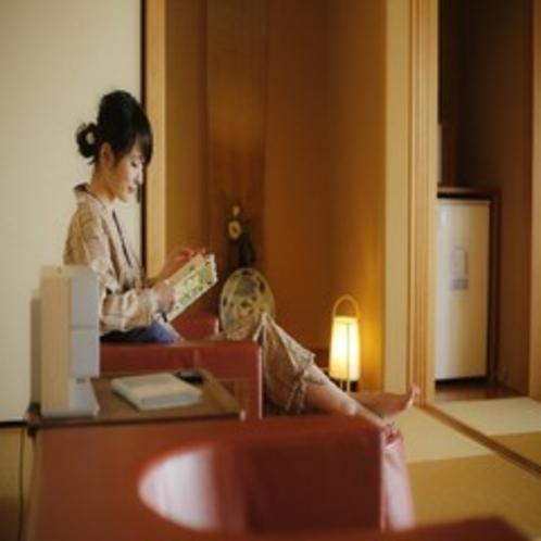 601客室 ソファーベッド