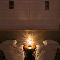 御当地部屋「潮風」 夜照明