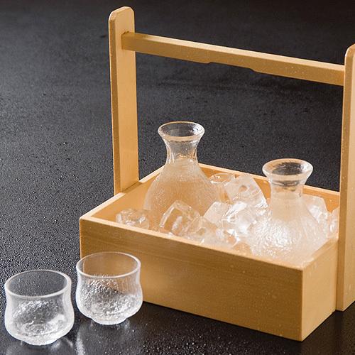 食事にあう日本酒をご用意しています