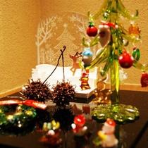 【クリスマス】お花坊館内も、クリスマスムードに♪