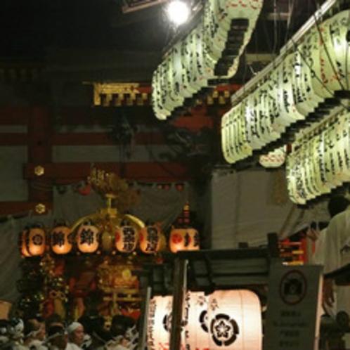 【祇園祭】街全体が古の雰囲気をかもしだす三大祭り。祇園際♪