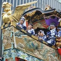 【祇園祭】7月の1か月間にわたり開催されるお祭りです♪
