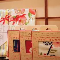 「京雑貨くろちく」のアイデアハンカチ