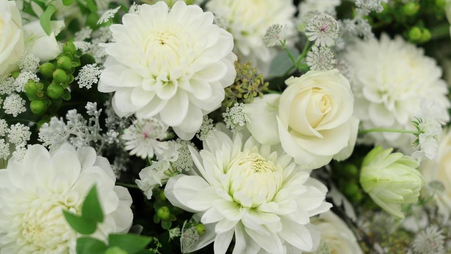 お部屋をお花でいっぱいに♪