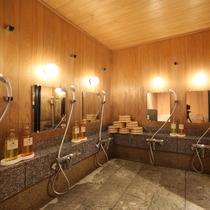 【お風呂】共用浴室内・洗い場