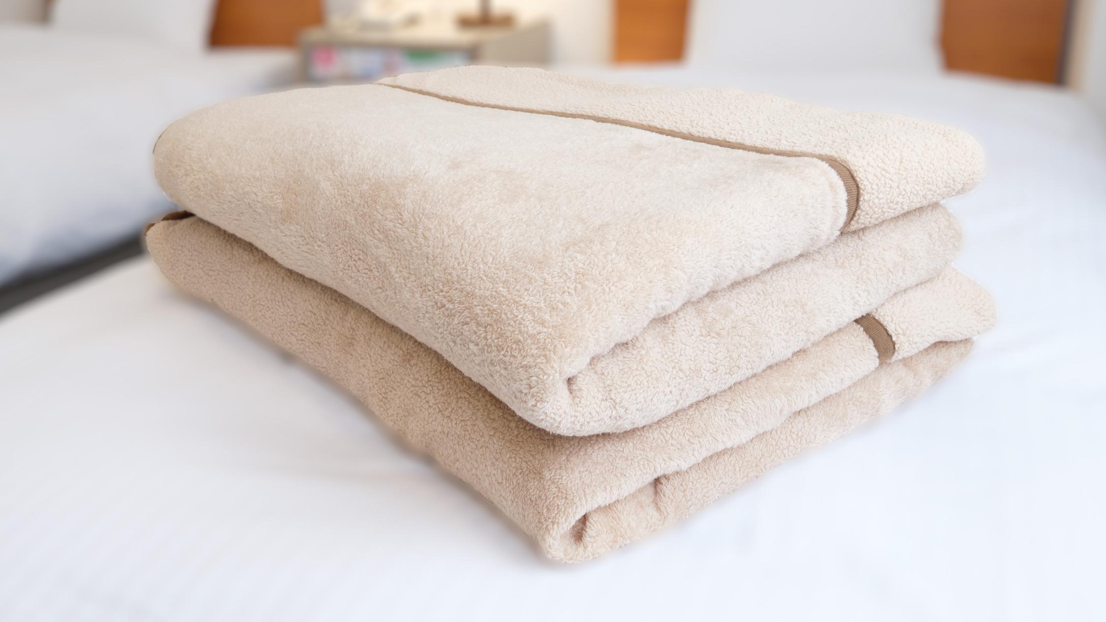 【貸出】毛布ございます。フロントへお申し付けください。