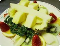 フルーツの盛り込み