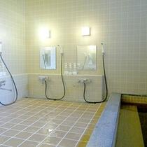 *【温泉大浴場】男性大浴場/洗い場もゆったり