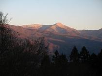 森 山 夕焼け