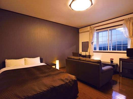 【DXダブルルーム】【やや狭いタイプのお部屋】北軽井沢の雄大な高原の絶景を望む2人だけの特等席