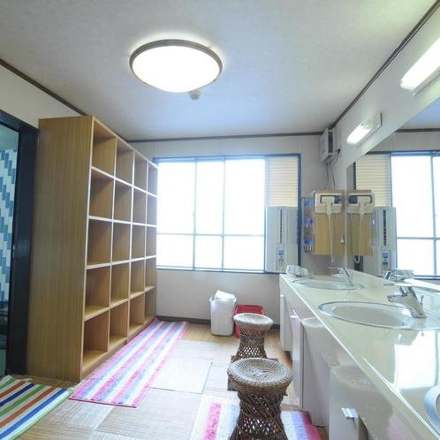 ◆小浴場脱衣場