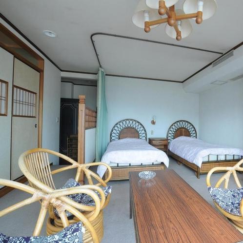 ◆大人数のご旅行にも使える2間続きの和洋室です