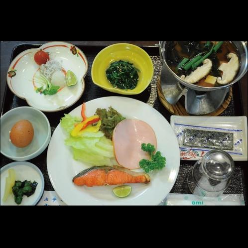 ◆朝は和定食で活力を!!
