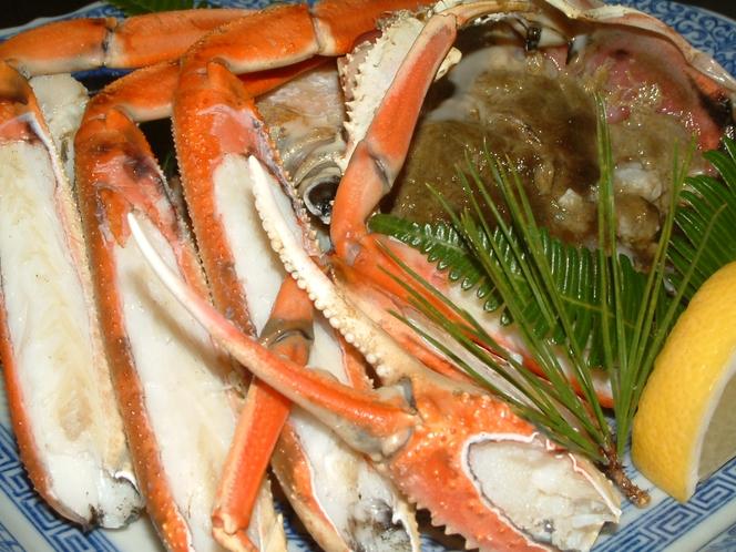 焼き松葉蟹