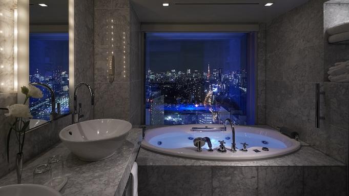 【1日1室限定】ビューバスから楽しむ東京夜景☆36階スーペリアダブルルーム確約