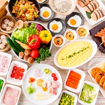 和ビストロ いちょう坂 和洋食ブッフェ朝食(イメージ)
