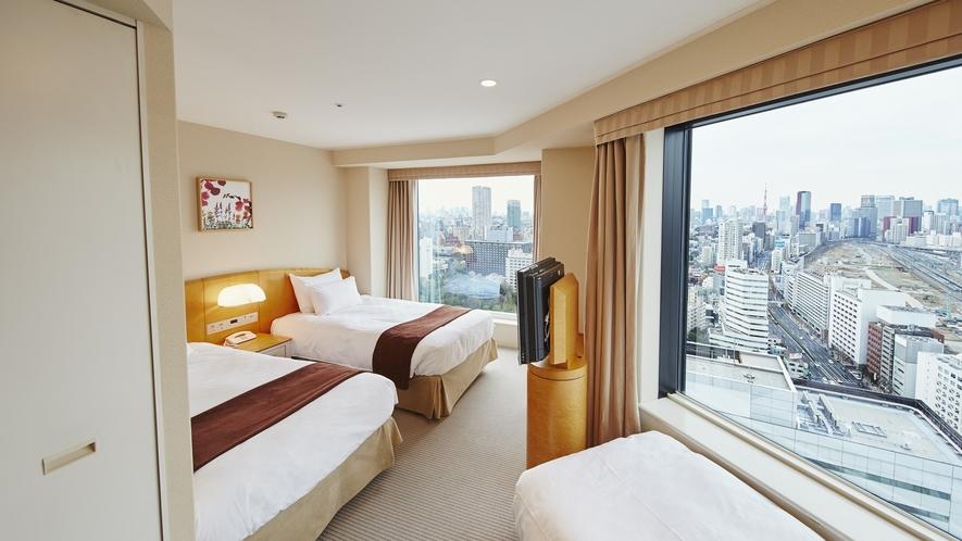 メインタワー高層コーナーツインルーム(28〜34階)