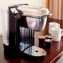 プレミアフロアのアメニティ(コーヒーマシン)