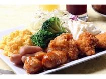 【朝食:盛付け一例】