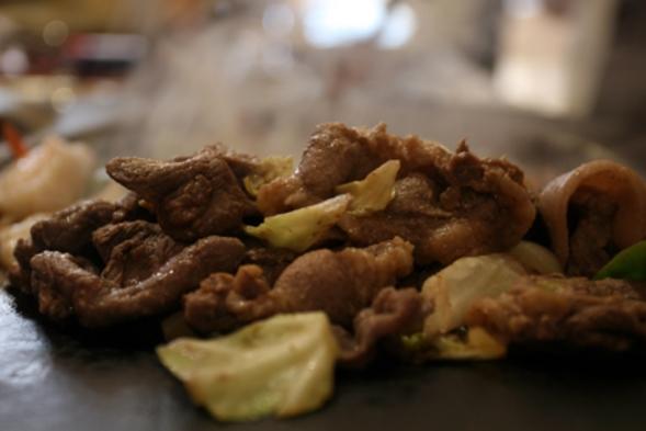 郷土料理 豚ハラミの焼肉