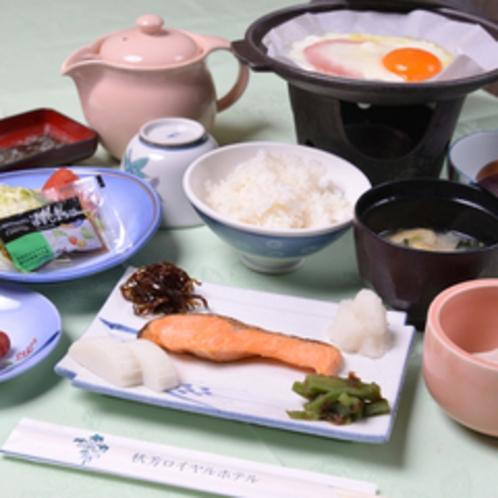 *ご朝食一例/栄養バランスの整った旅館の朝ごはんでお目覚め下さい。