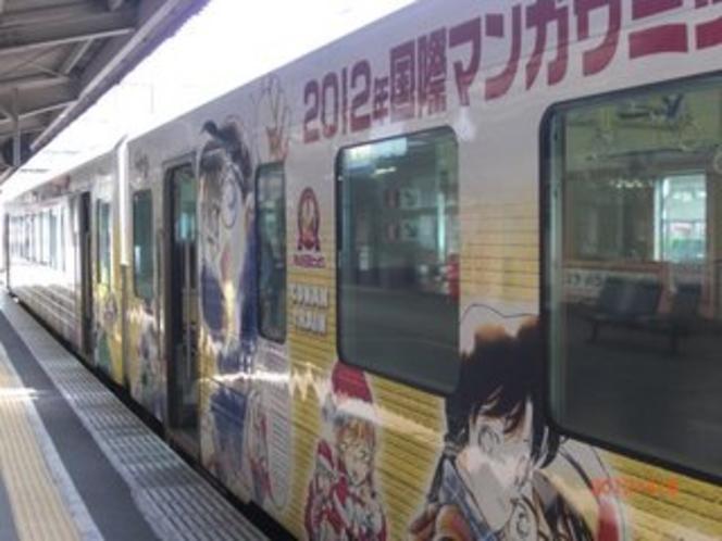 コナン列車 山陰本線