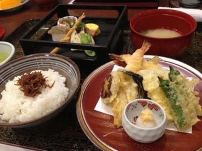 天ぷら御膳  (現在メニューにはございません。(要予約) )