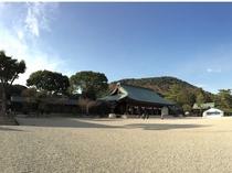 橿原神宮(当ホテルを出て左にまっすぐ進むすぐにございます)