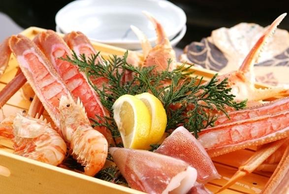 ★柴山カニは茹でカニ半匹・カニ刺しで★1・5匹フルコース (ズワイカニを含みます)‥現金特価