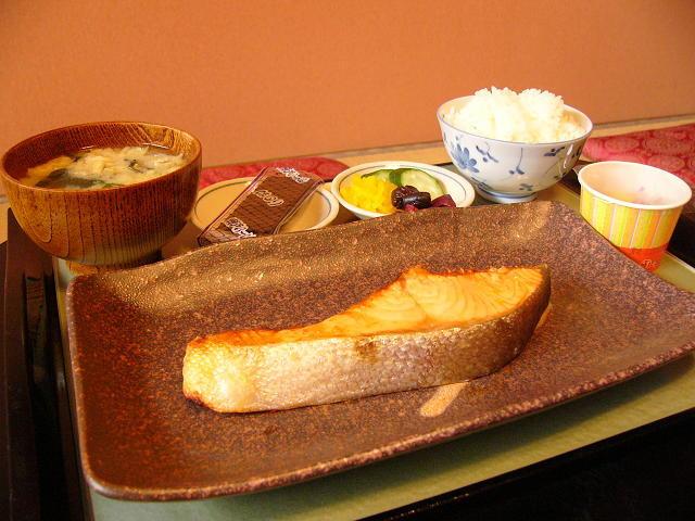 極ウマ鮭定食 (1,000円)