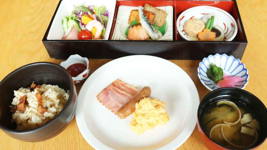 お選びいただける朝食(和食)