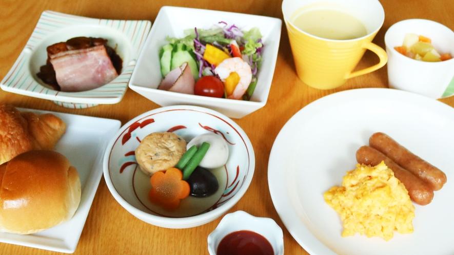 お選びいただける朝食(洋食)
