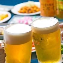 「かんぱ~い♪」美味しいビールには、美味しいおつまみがピッタリ!★