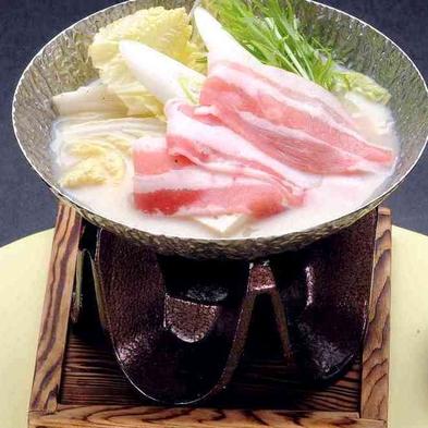 豆乳鍋〜幻の豚肉!千代幻豚〜堪能プラン