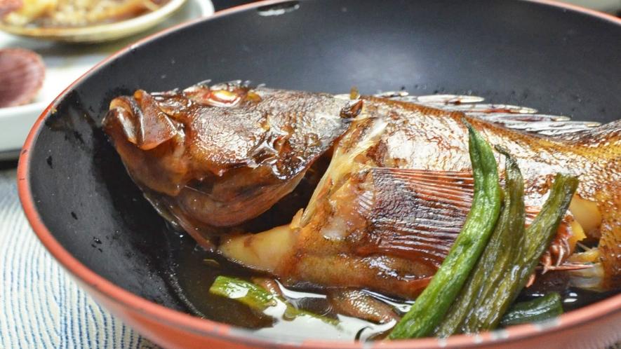*【夕食】一例。旬の魚介類を使って。安乗は的矢湾の先端。常に新鮮な魚介類がいっぱい。